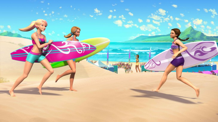 Barbie surf