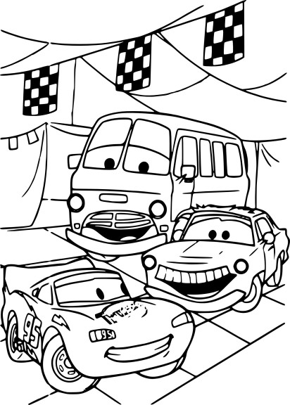 Cars coloriage