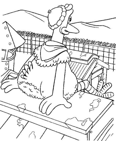 Chicken Run coloriage