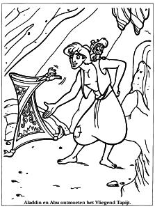 Coloriage Aladdin 2