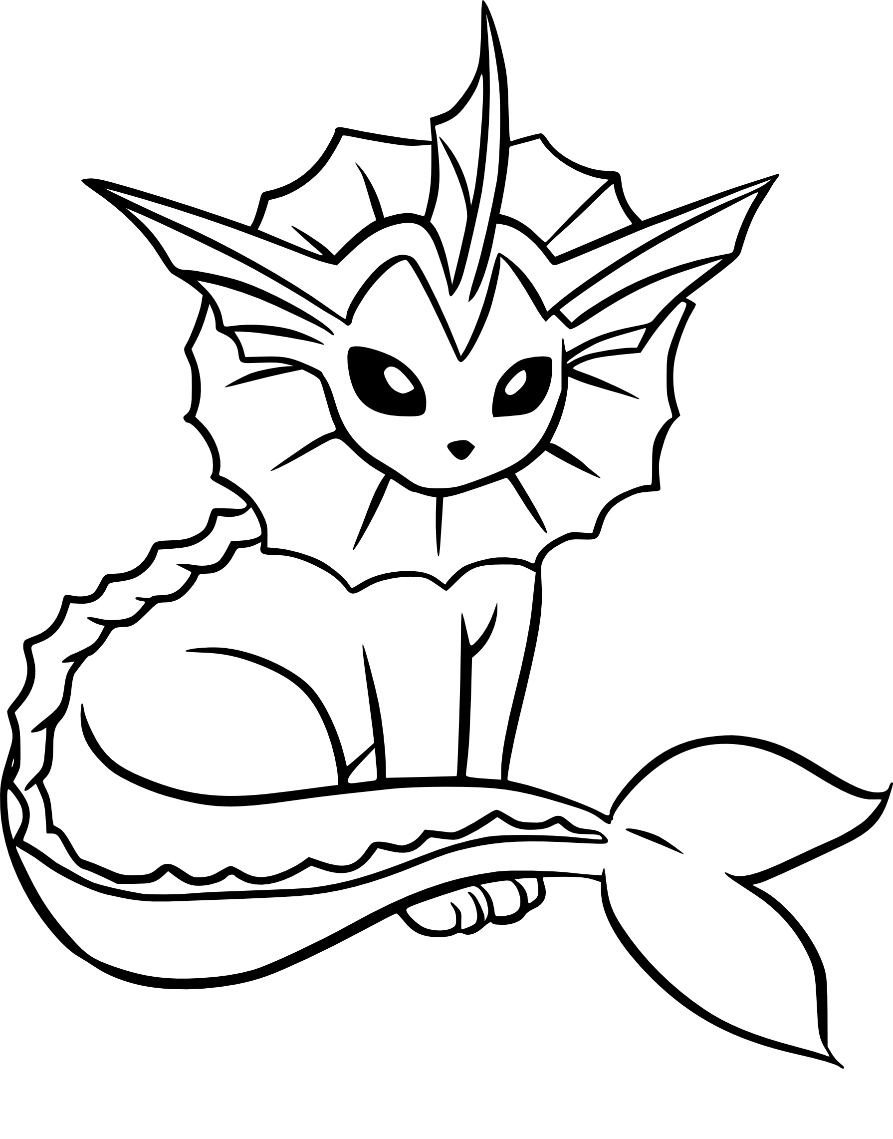 Coloriage aquali pokemon imprimer - Coloriage prin ...
