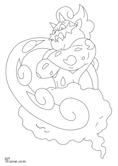 Coloriage boreas pokemon imprimer - Coloriage pokemon sulfura ...