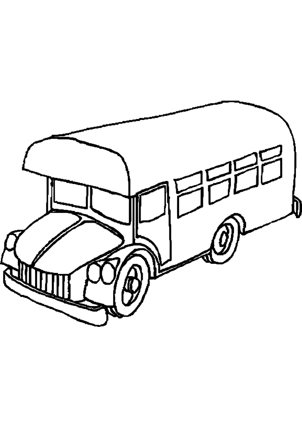 Coloriage Bus Playmobil 224 Imprimer