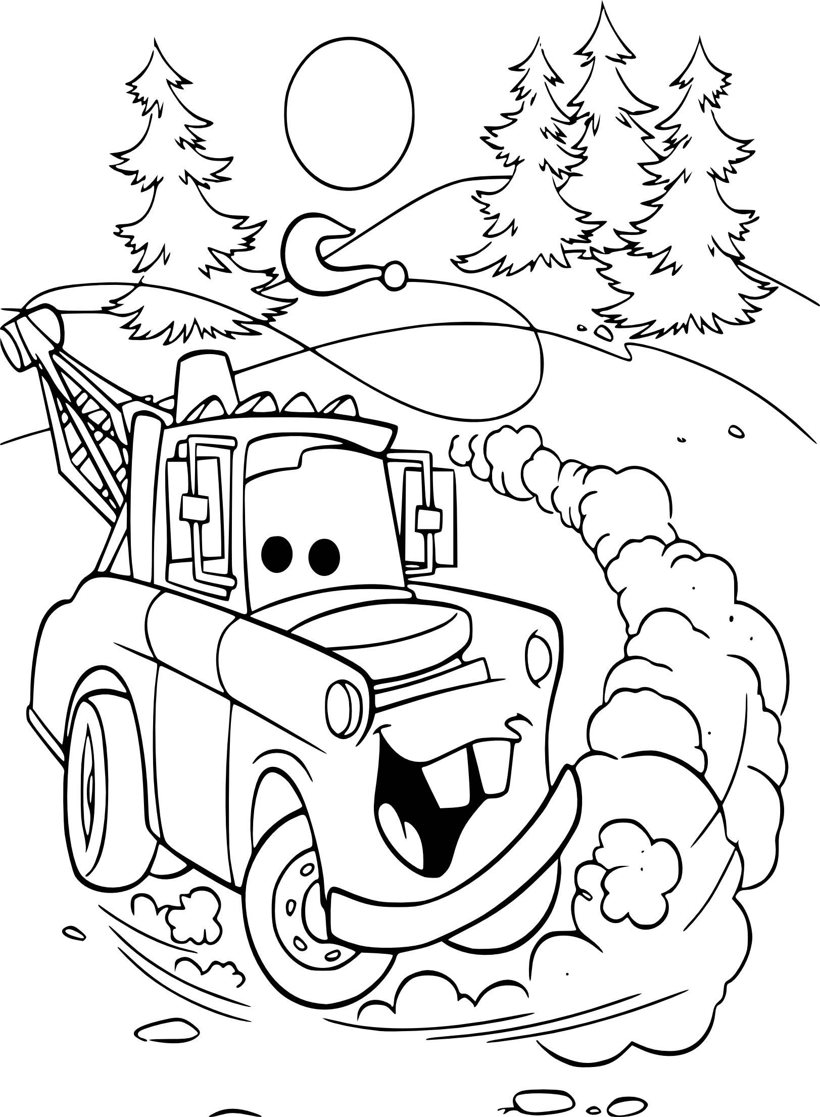 Coloriage cars martin imprimer - Coloriages de cars ...
