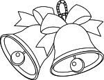 Coloriage cloche de Paques