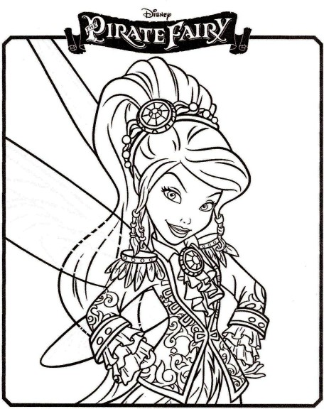 Coloriage f e pirate vidia imprimer - Coloriage fille pirate ...