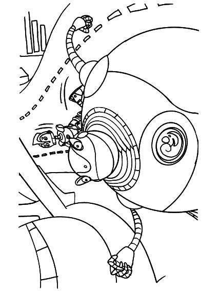 Coloriage film robots