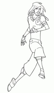 Coloriage Galactik Football