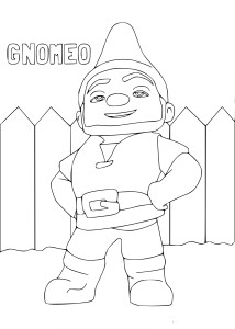 Coloriage Gnomeo