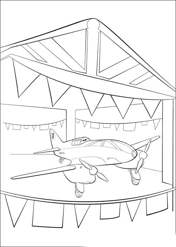 Coloriage Planes Bulldog
