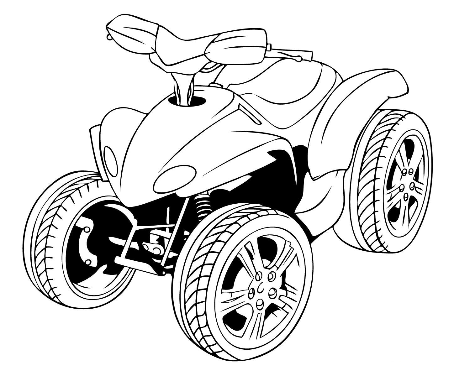 Atv Coloring Pages also Colouring Pages Jurassic World Indominous Rex Coloring in addition Honda Xl175 as well Atv Coloring together with Wiring Diagram For Yamaha 350 Big Bear. on yamaha atv raptor