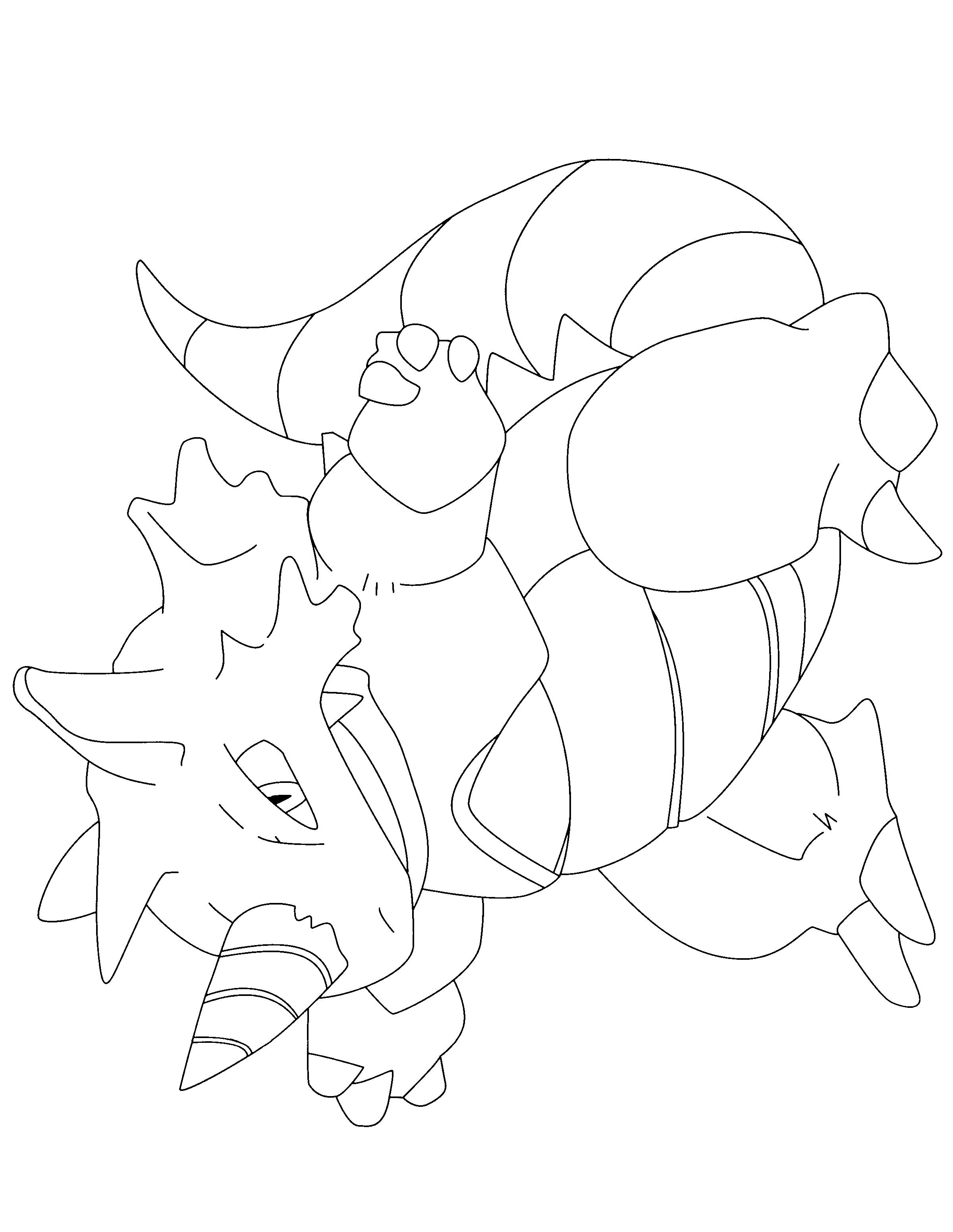 Coloriage Rhinoferos