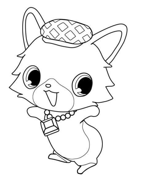 Coloriage Teletoon Jewelpet