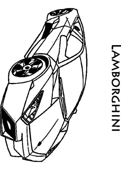Coloriage voiture lamborghini imprimer - Coloriage voiture mini cooper ...
