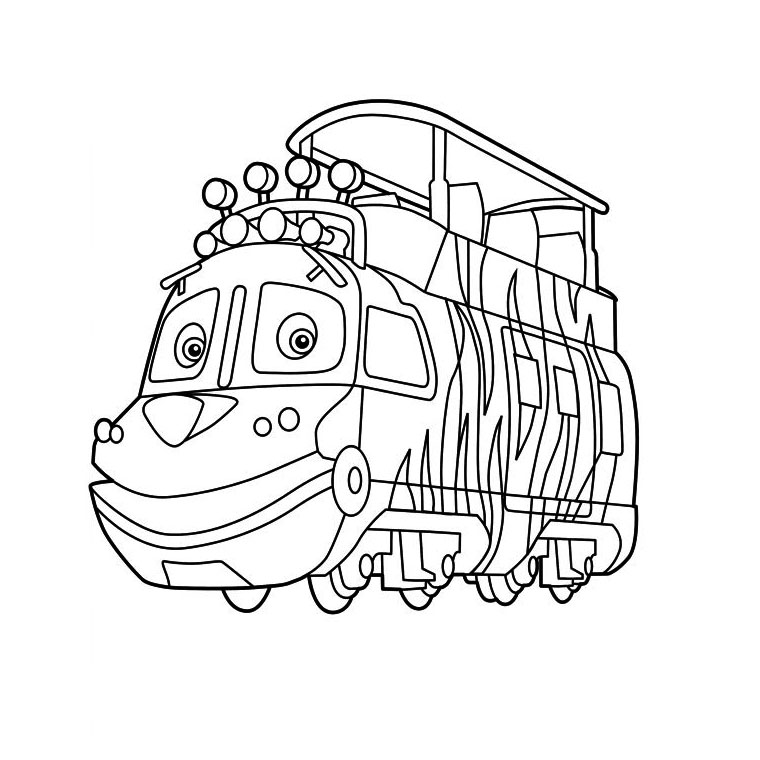 Dessin Chuggington