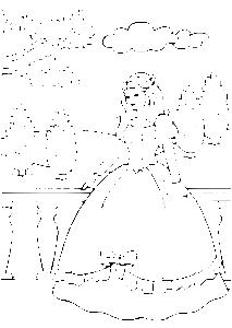 Dessin princesse