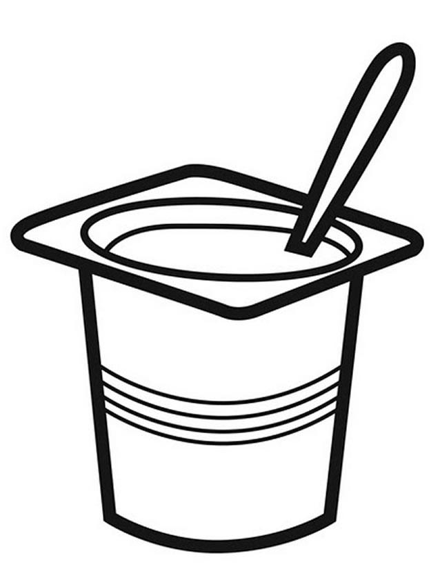 Dessin yaourt
