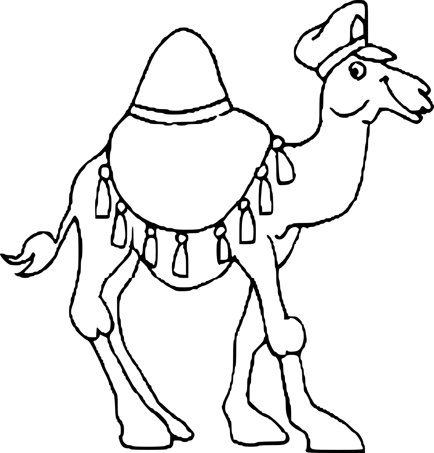 Paul in athens coloring pages coloring pages for Camel coloring page
