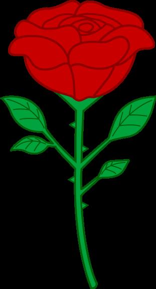 Coloriage Fleur Rose A Imprimer
