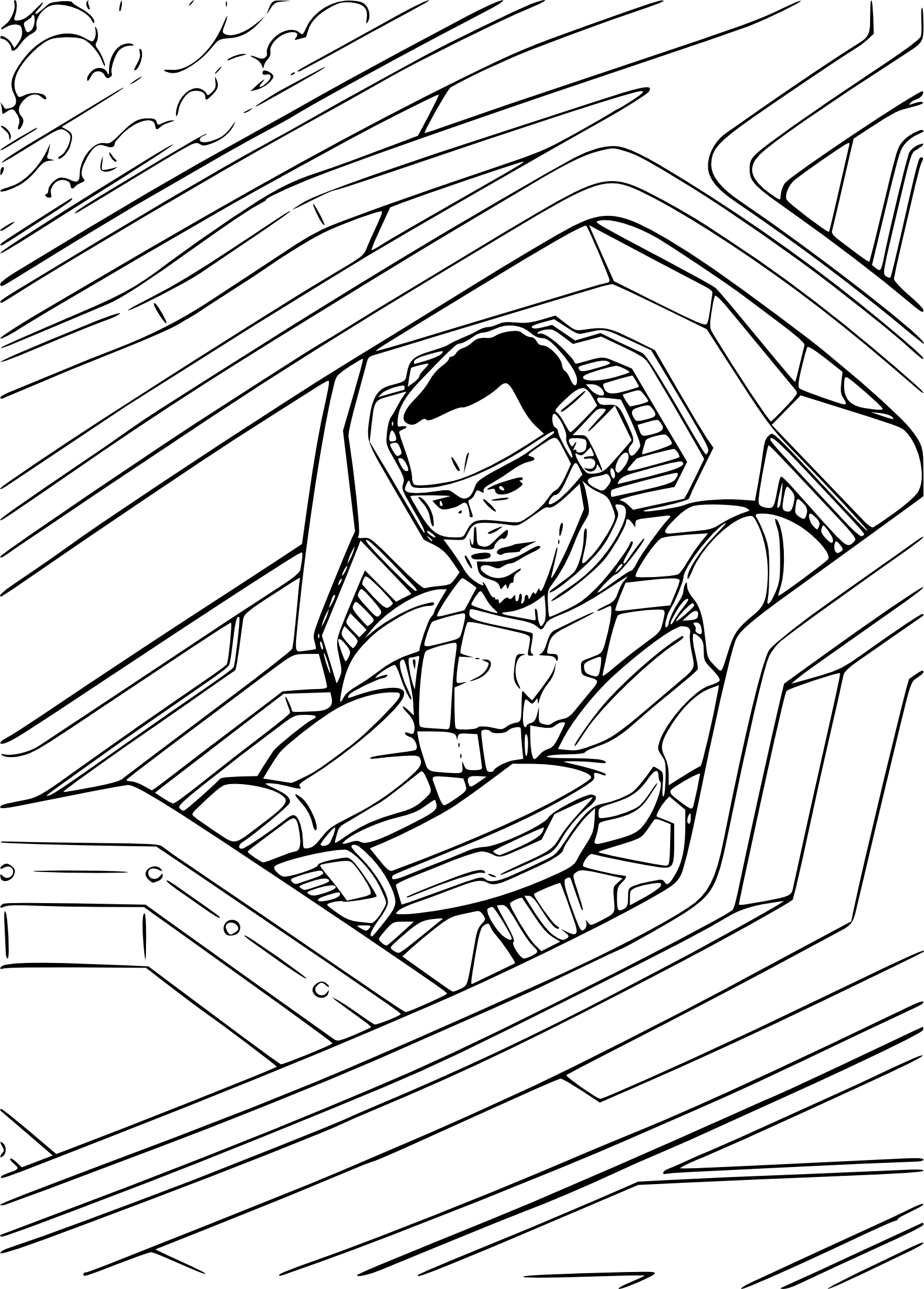 Gi-Joe coloriage