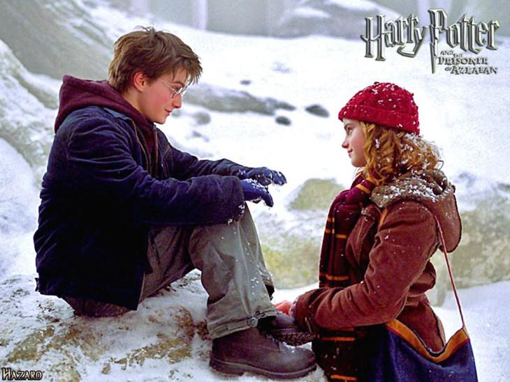 Harry Potter et Hermione