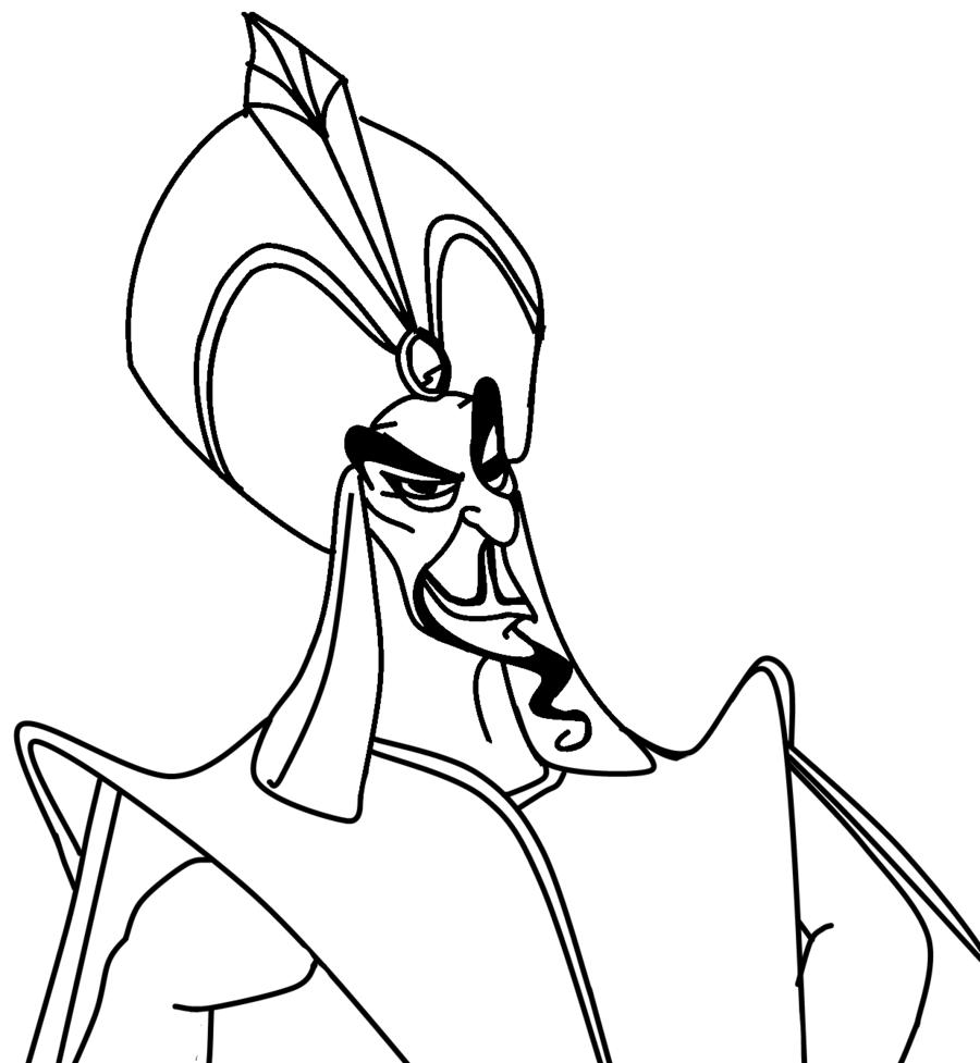 Jafar coloriage