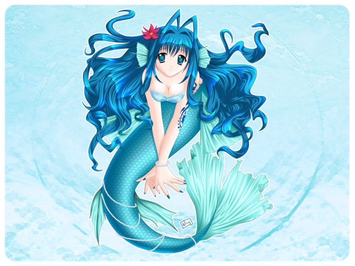 Manga fille sirene