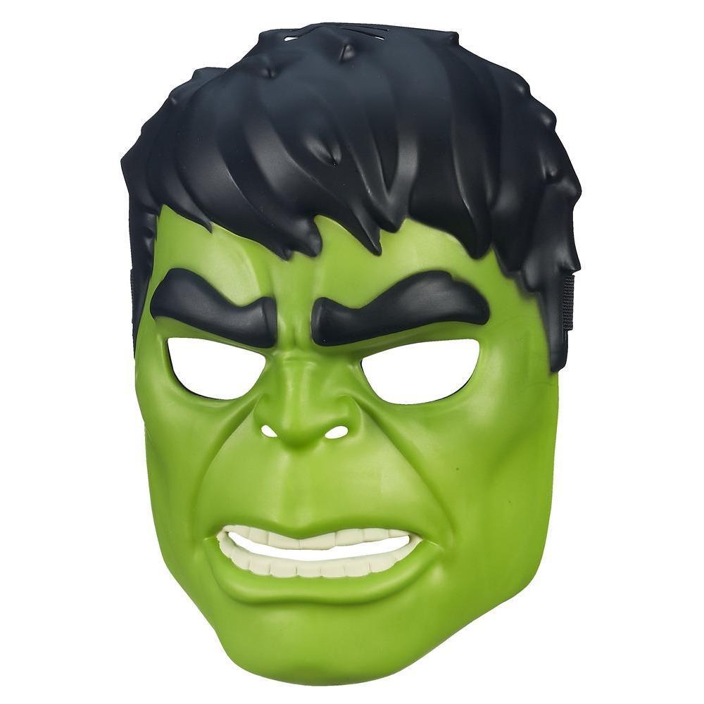 Coloriage Masque Hulk à Imprimer