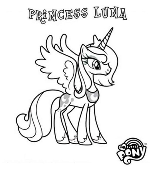 Coloriage my little pony gratuit imprimer - Coloriage de my little pony ...