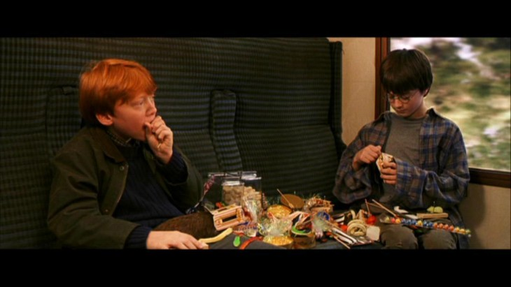 Ron et Harry