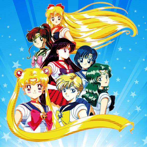 Sailor Moon fond