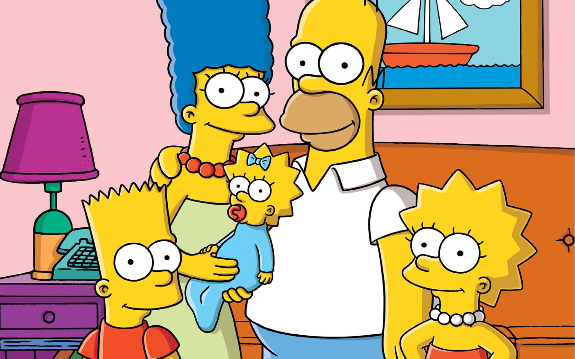 Simpson : Coloriage Simpson à imprimer et colorier
