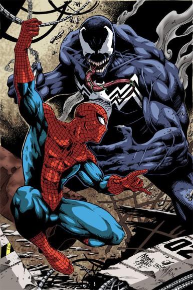 Spiderman contre Venom
