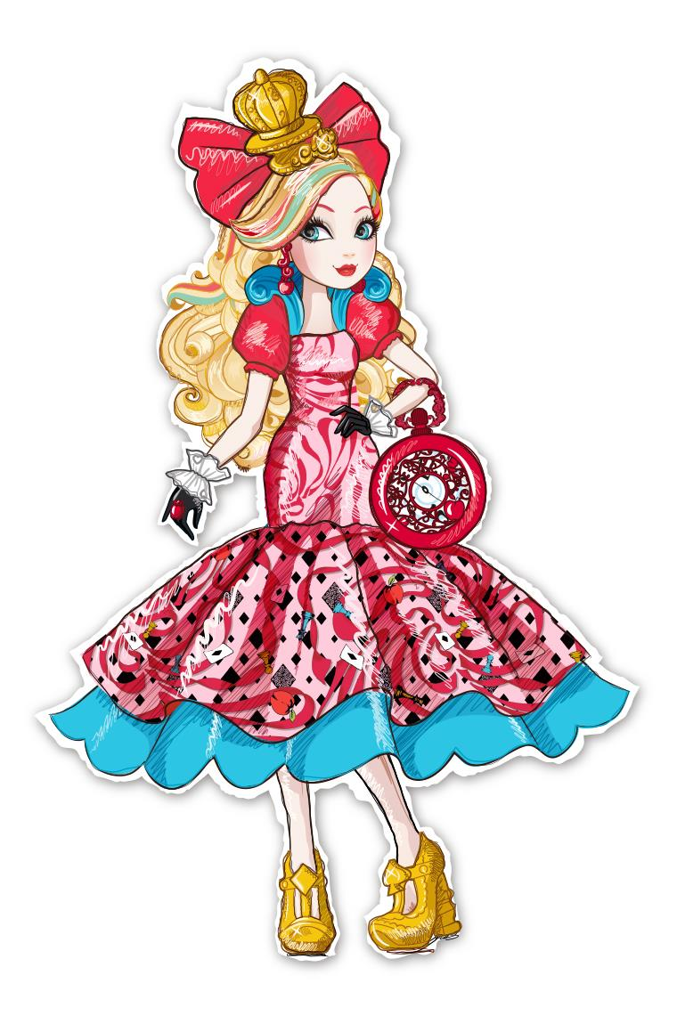 Coloriage Ever After High Apple