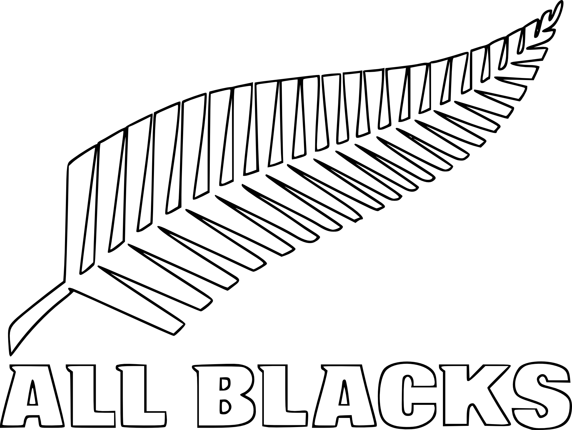 Coloriage All Blacks