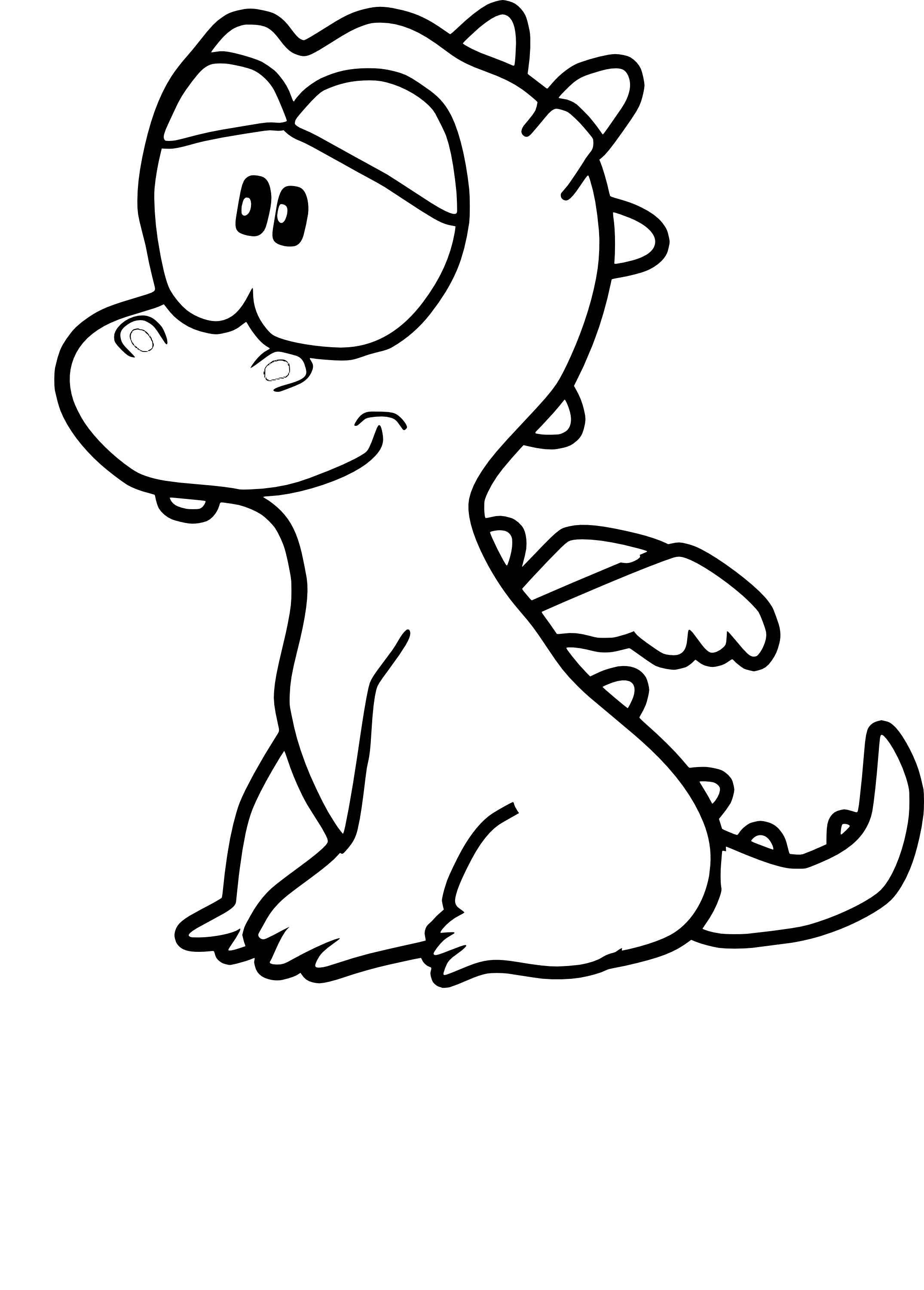 Coloriages de bebe dragons - Coloriages de dragons ...