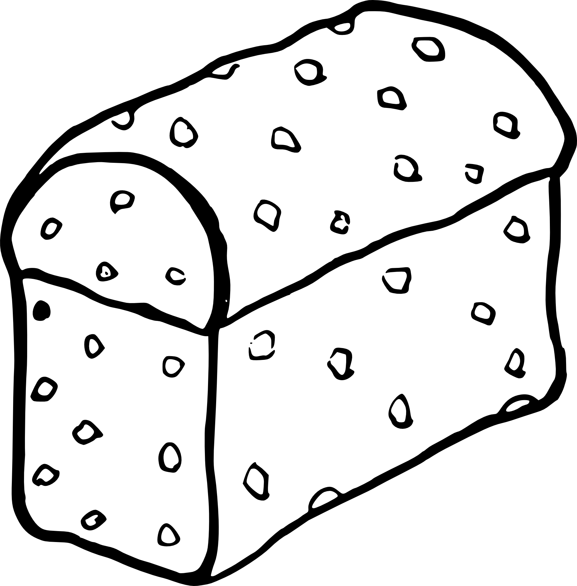 Coloriage Gateau Cake.Coloriage Brioche A Imprimer