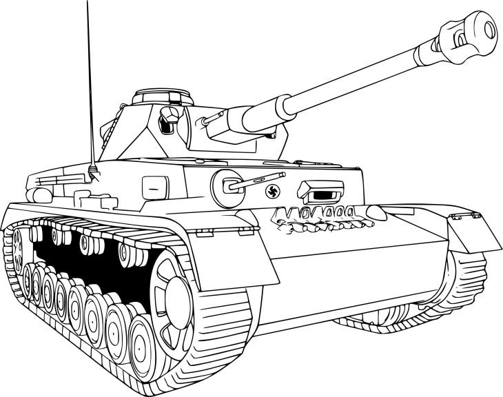Coloriage char de guerre imprimer - Coloriage de tank ...