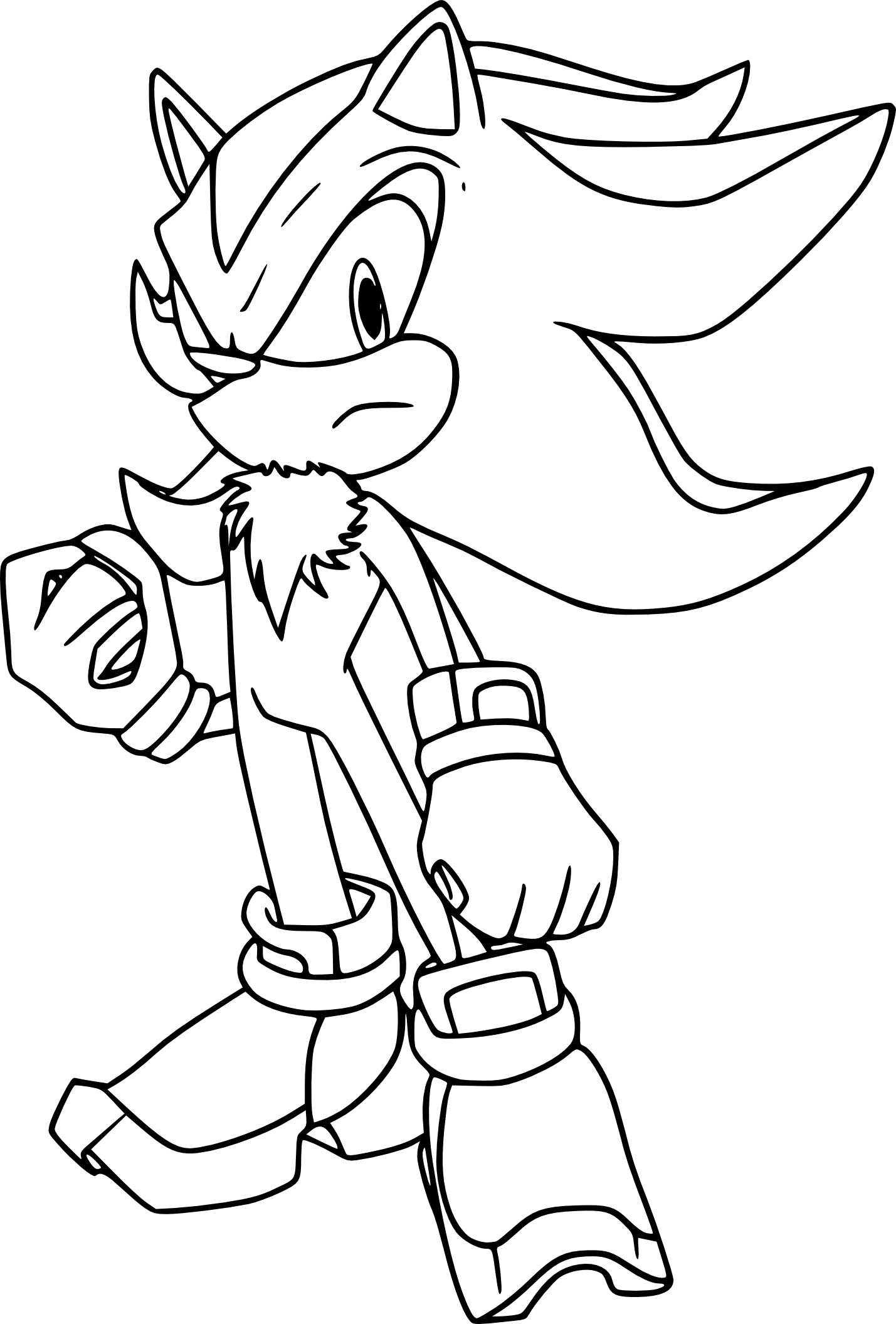 Coloriage de Shadow