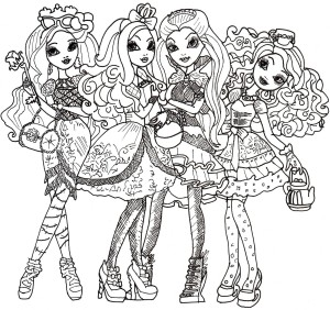 Coloriage Ever After High