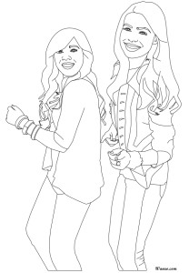 Coloriage iCarly