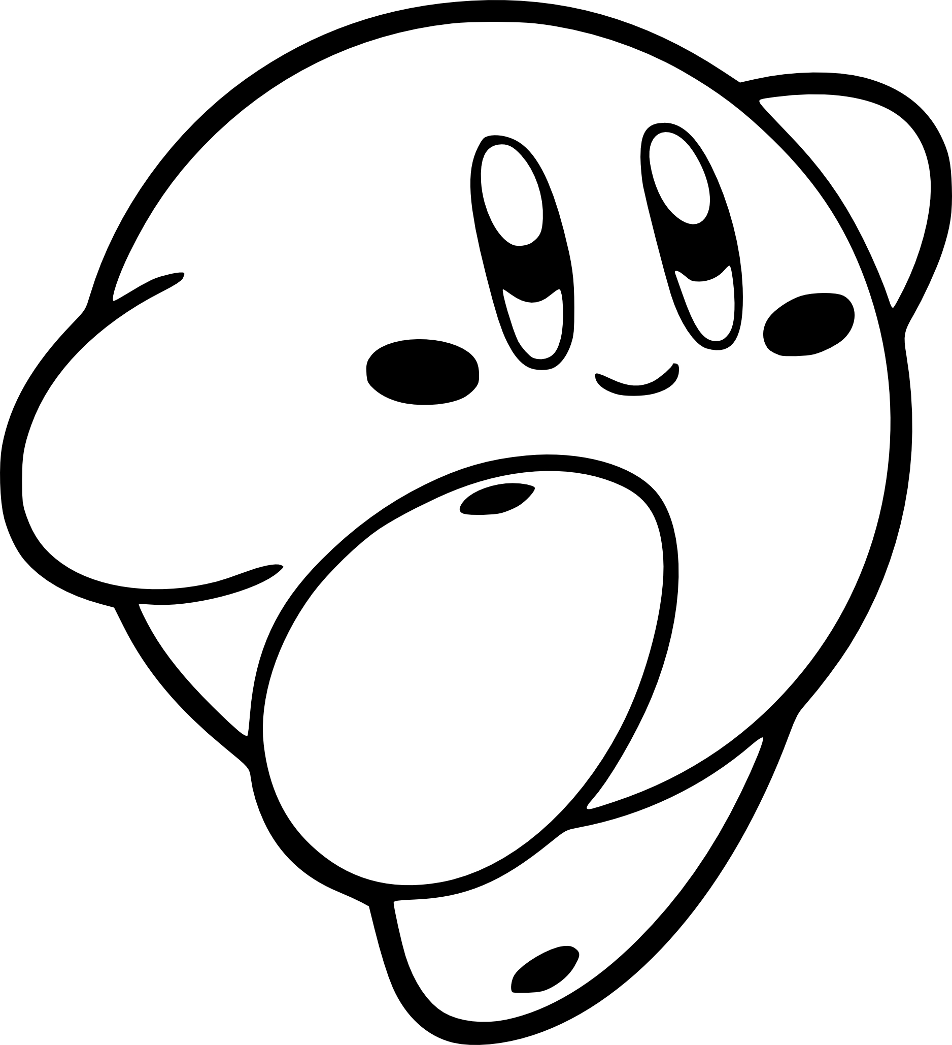 Coloriage Kirby 224 Imprimer