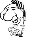 Coloriage Lionel Messi