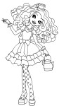 Coloriage Madeline Hatter