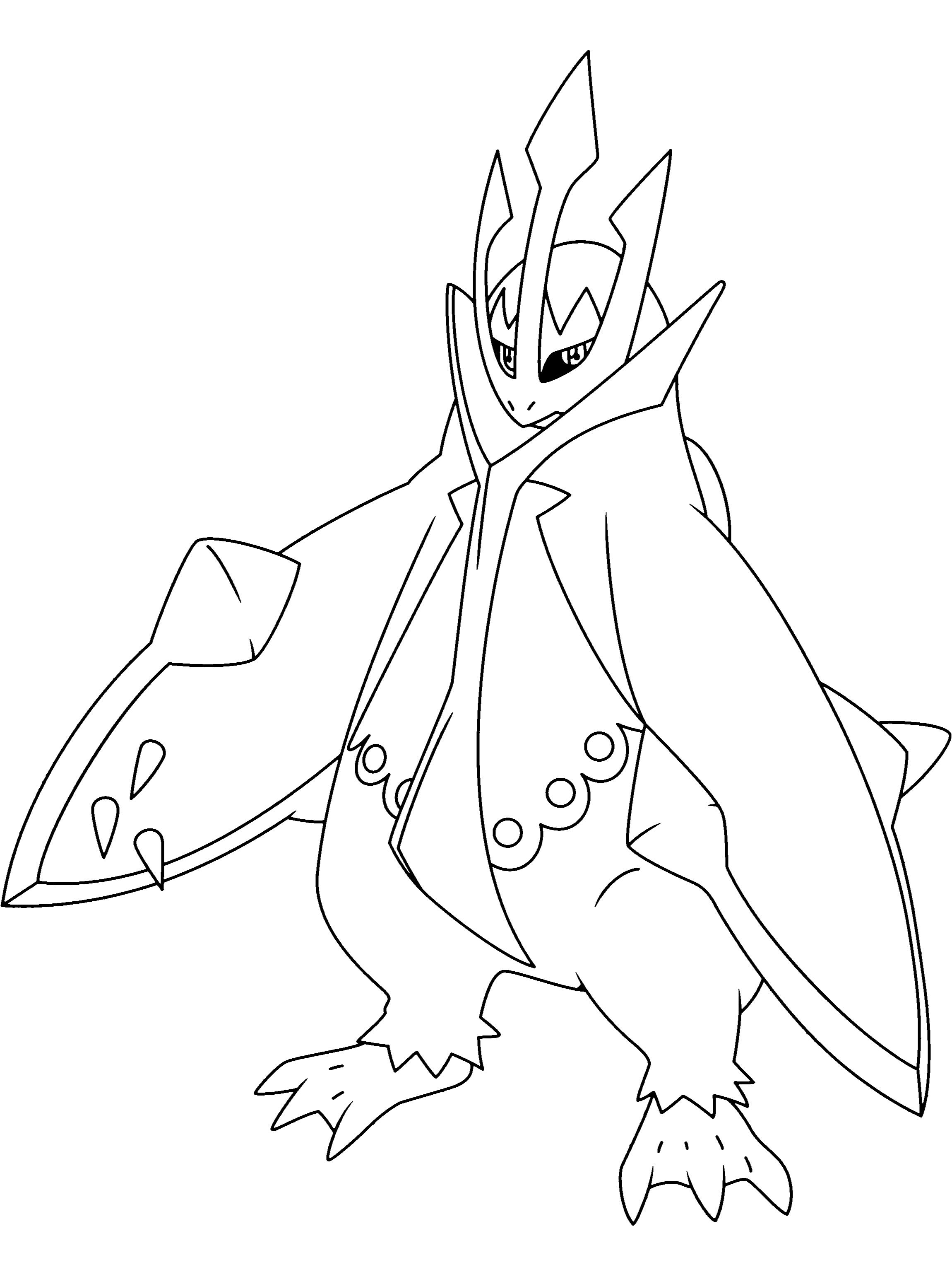 Coloriage pingoleon