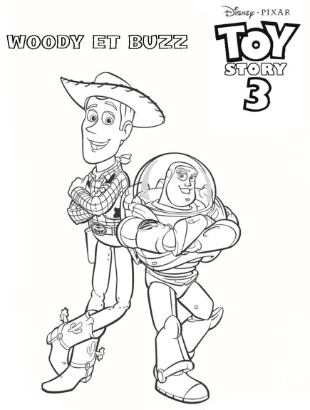Coloriage Toy Story 3