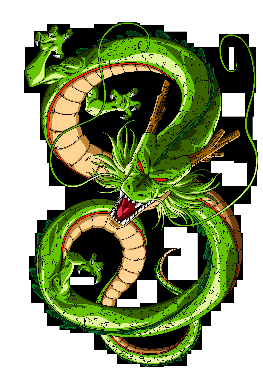 Coloriage dragon shenron de dbz imprimer - Image de dragon ball z ...
