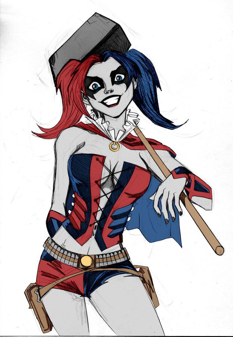 Coloriage harley quinn de batman imprimer - Dessin catwoman ...
