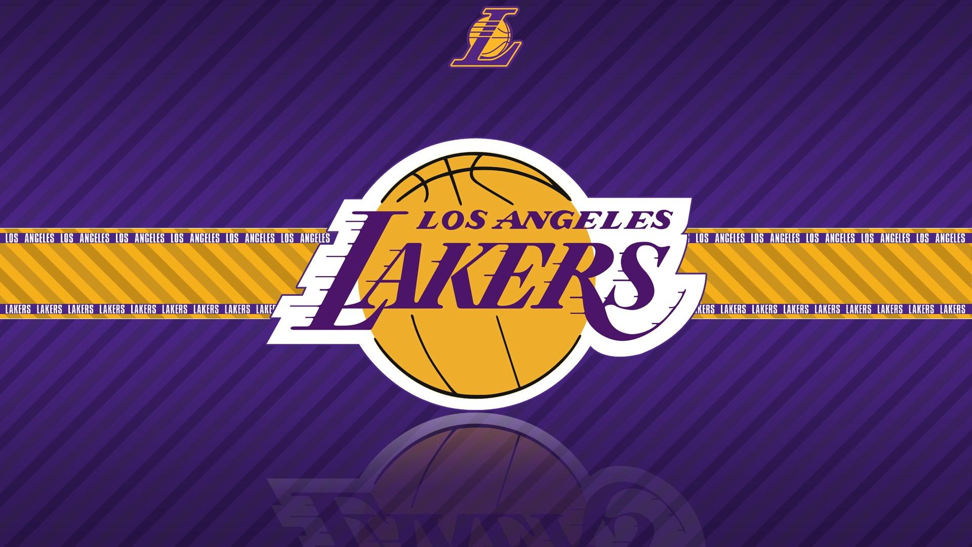 Coloriage NBA Lakers à imprimer
