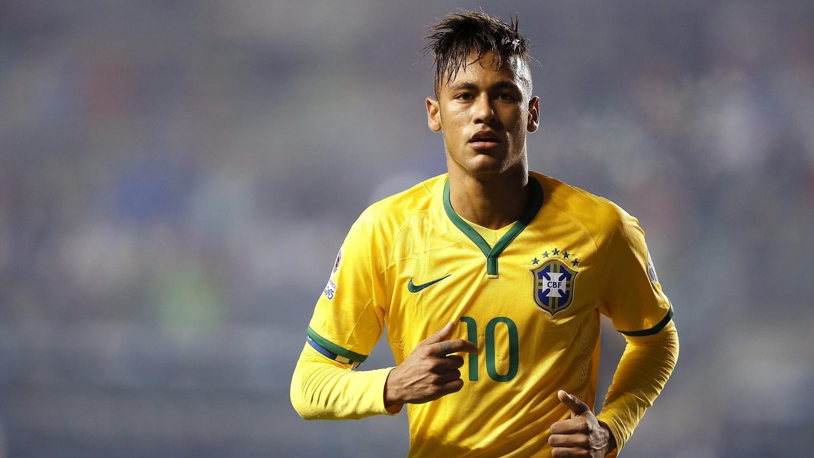 Coloriage Neymar à imprimer